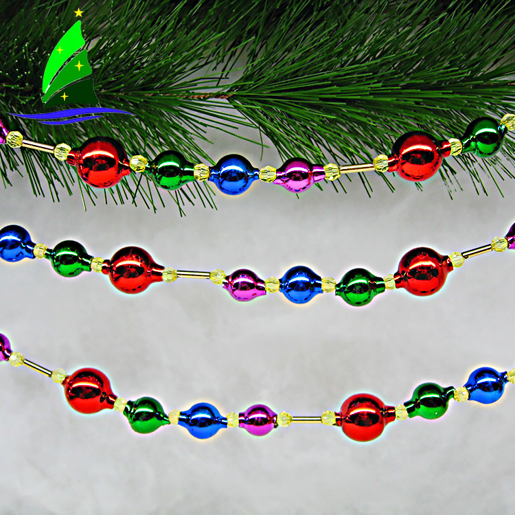 Glass Decoration String Ball Chain Gift