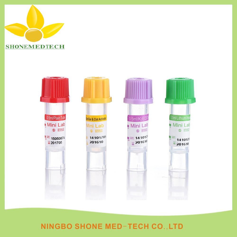 0.5ml Lithium Heparin Micro Blood Tube