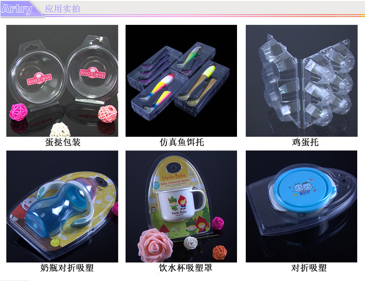 OEM Biodegradable Folding Plastic Box for Baby Feeding Bottle (PVC/PP gift package)