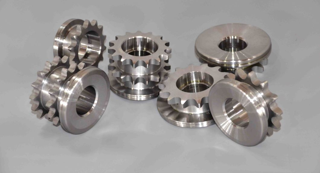 Carbon Steel Hardened Teeth Chain Wheel Sprocket for Conveyor System