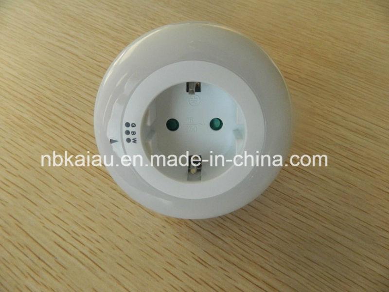 Germany French Europe Plug Photocell Sensor LED Night Light (KA-NL365A)