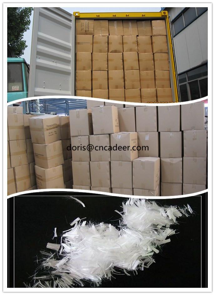 12mm Micro PP Polypropylene Fiber Virgin Monofilament PP Fiber Asphalt Concrete Fiber,