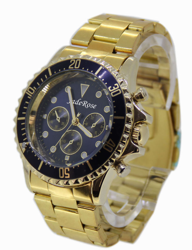 High-Quality Waterproof Men's Watch with Alloy Gift