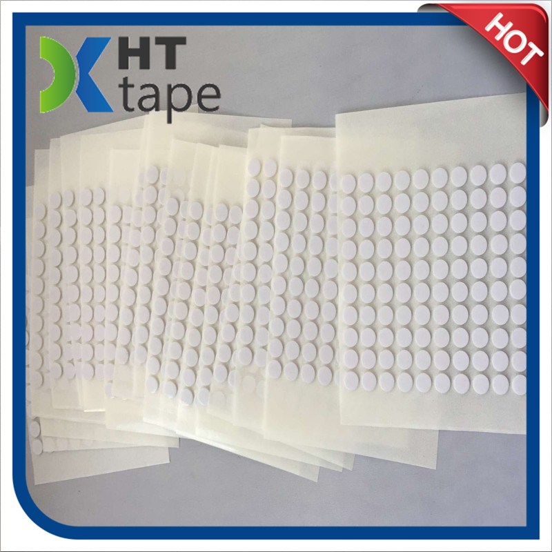 Can Customize The 3 M Foam Circle Strong Pet Transparent DOT White Foam Sponge Double-Sided Adhesive