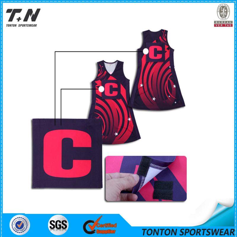 Custom Sublimated Netball Uniform Sports Wholesale
