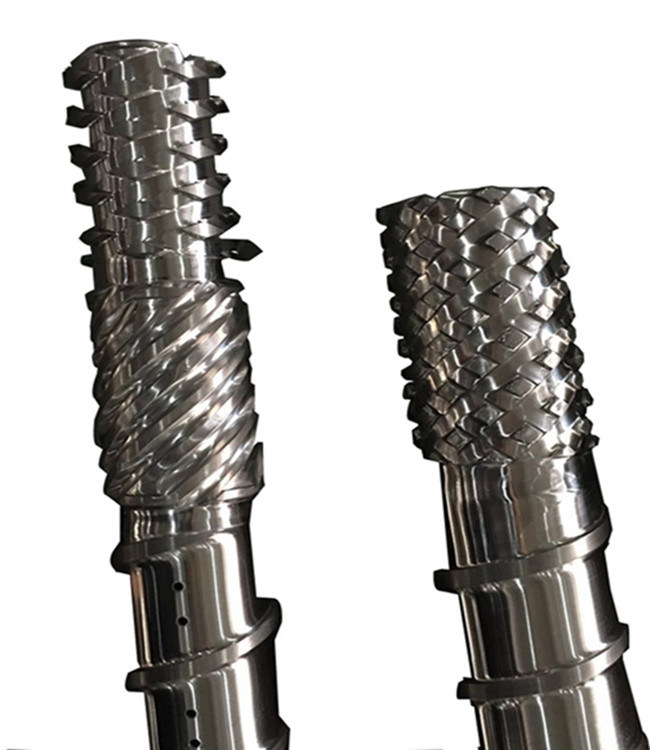 Parallel Screw and Barrel for PVC