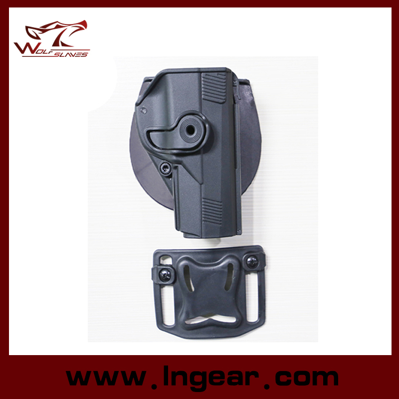 Tactical Airsoft Paintball Right Handed Pistol CQC Style Beretta Px4 Pistol Holster Black