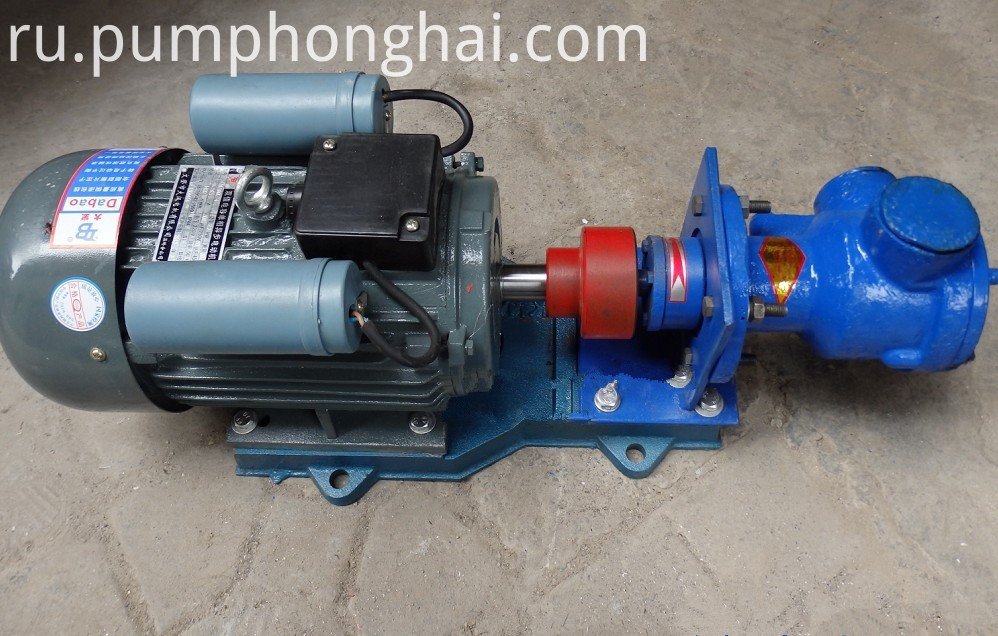 NCB gearmotor driven pumps