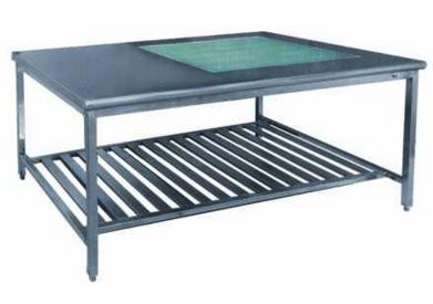 Hospital Linen Folding Table