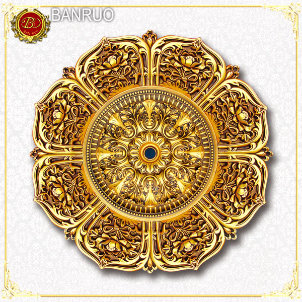 Banruo Luxurious Plastic Artistic Ceiling Panel