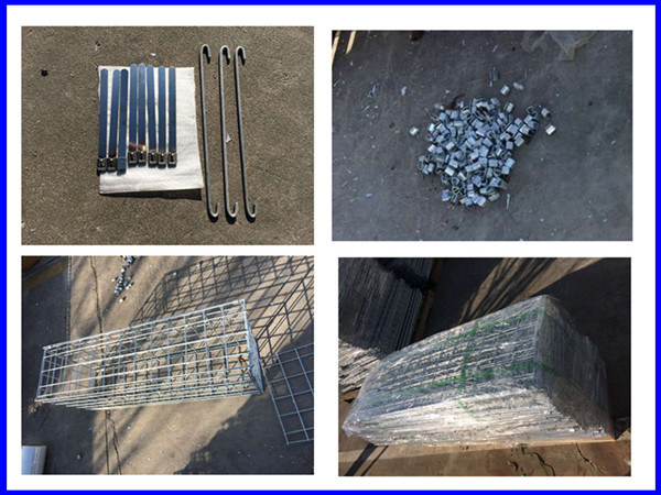 Heavy Zinc Welded Wire Mesh Gabion Wall Basket