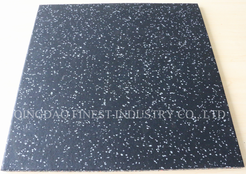 Factory Price High Quality Compound Rubber Tile Rubber Floor Rubber Mat for Gym and Fitness