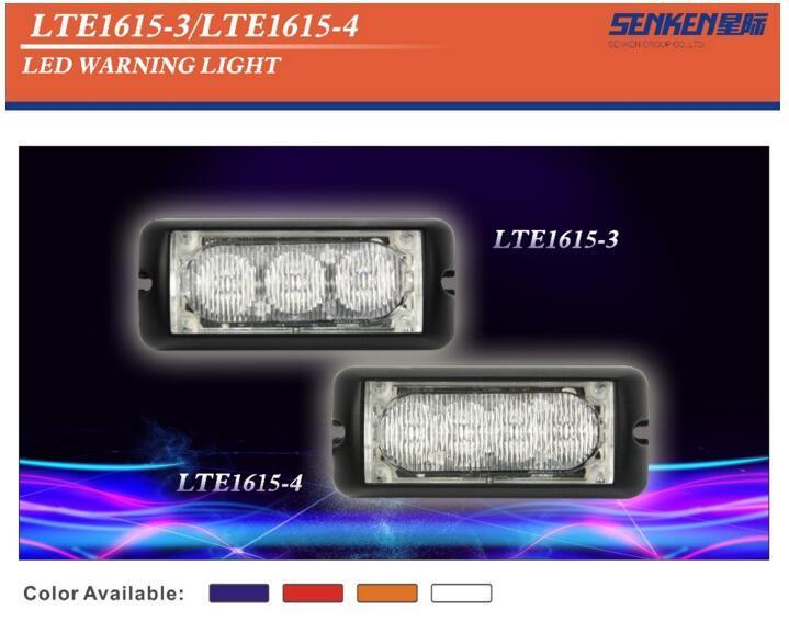 2016 New Senken LED Warning Light R65 Approved IP67 Waterproof