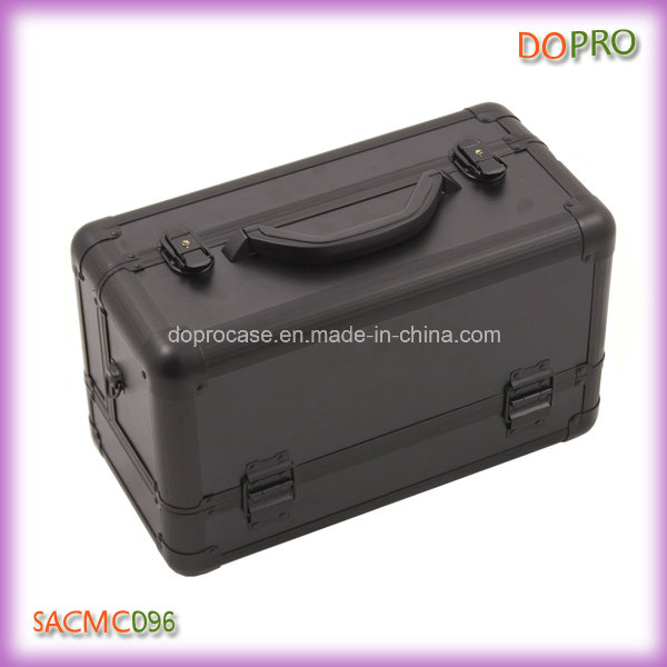 Solid Color ABS Surface Wholesale Professional Makeup Cases (SACMC096)