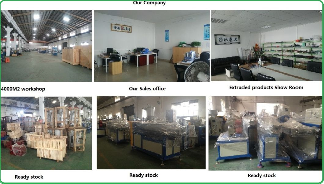 High Cutting Precision LED Lampshade Plastic Extruding Producing Machinery