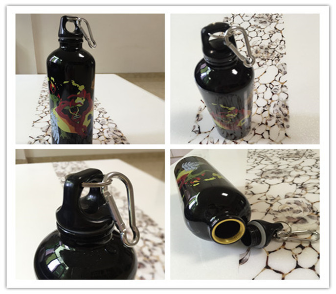 400ml Stainless Steel Bottle, Sports Water Bottle, with Straw (SH-ST05)