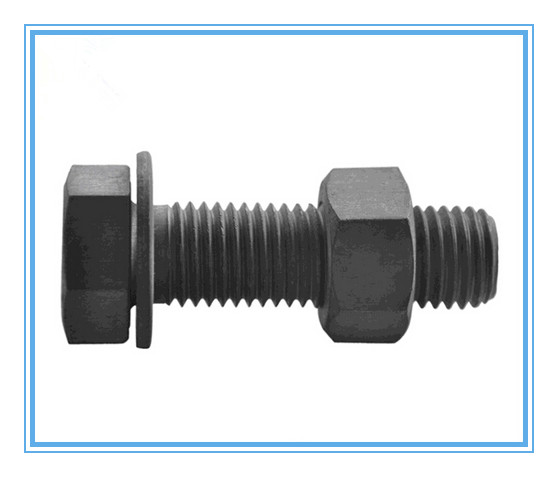 Black Hexagon Head Bolts with Carbon Steel