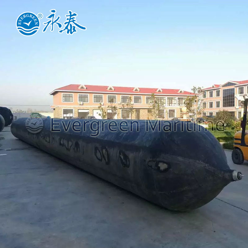 High Buoyancy Salvage Marine Rubber Balloon Airbag for Vessel Barge Ship Launching Dry Docking Pulling to Shore Heavy Lift in Shipyards