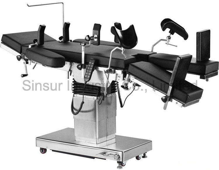 Hospital Shoulder Holder Adjustable Hydraulic Electric Medical Equipment Operating Table