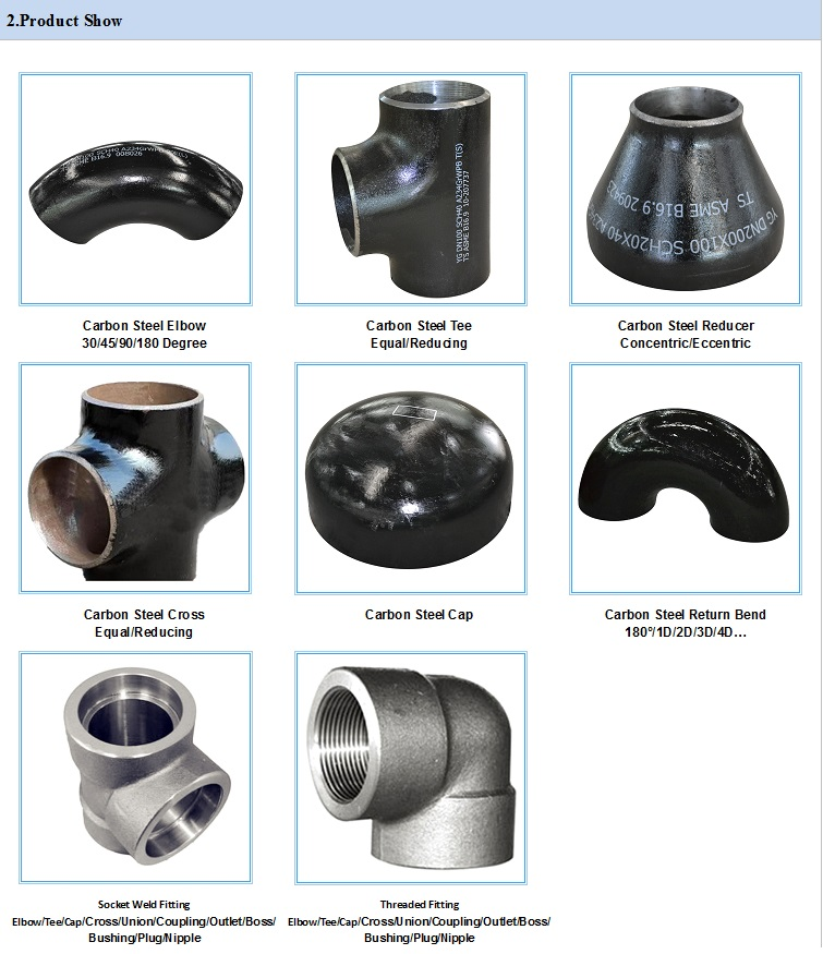 High Quality Carbon Steel Pipe End Cap