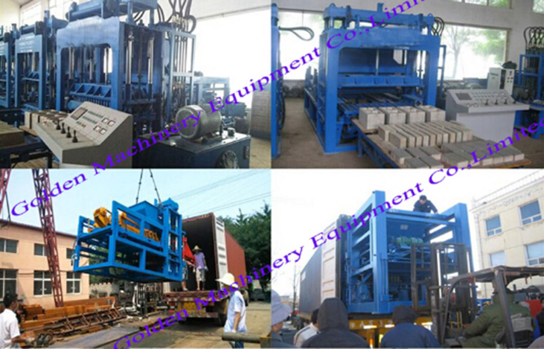 Qt6-15 Cement Brick Block Making Fly Ash Interlock Laying Machine