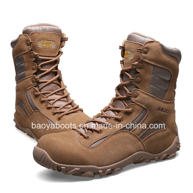 Good Quality Army Desert Boots Fashionable Jungle Boots (31005)