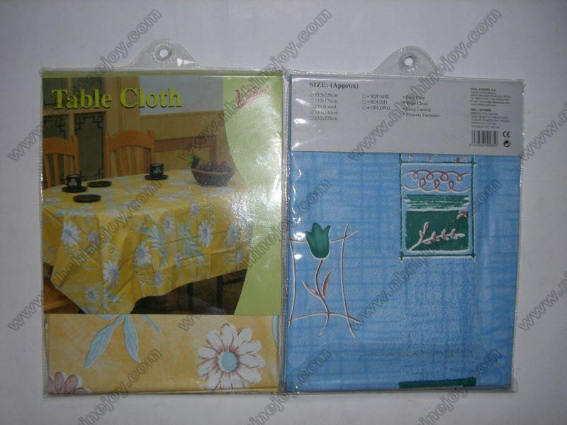 PEVA/PVC Waterproof Tablecloth
