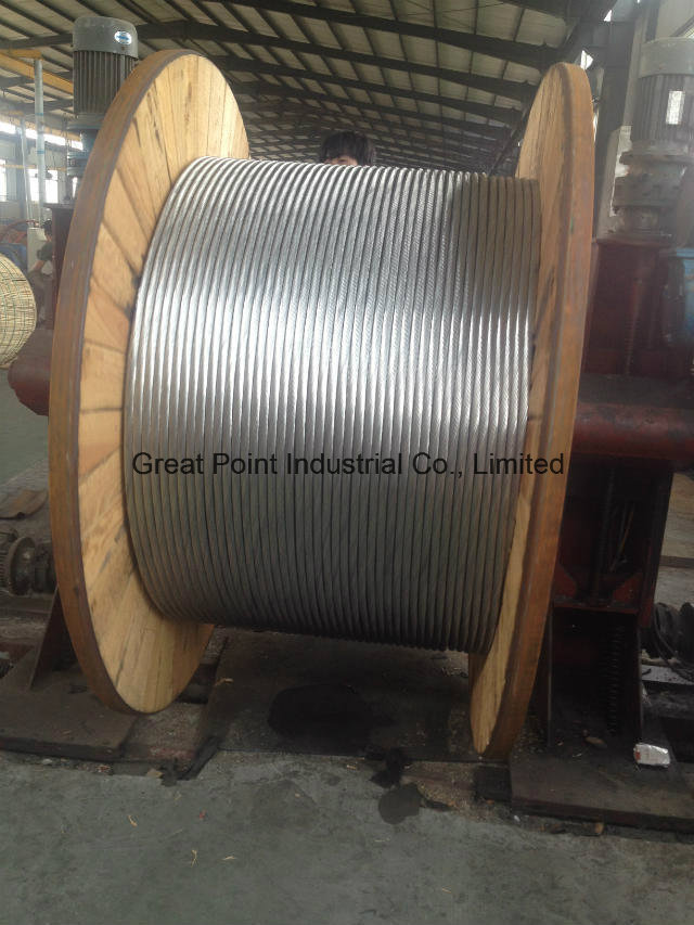Galvanized Steel Wire Strand for Ground/Stay/Guy Wire, ACSR, Messager
