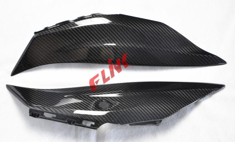 Carbon Fiber Rear Seat Side Panel for Kawasaki Zx10r 2016