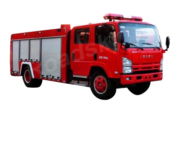 Specialized Vehicle Water Foam Fire Fighting Engine Truck