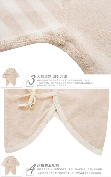 Fashion High Quality Organic Baby Rompers