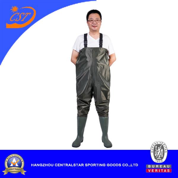 Nylon PVC Chest Wader for Men