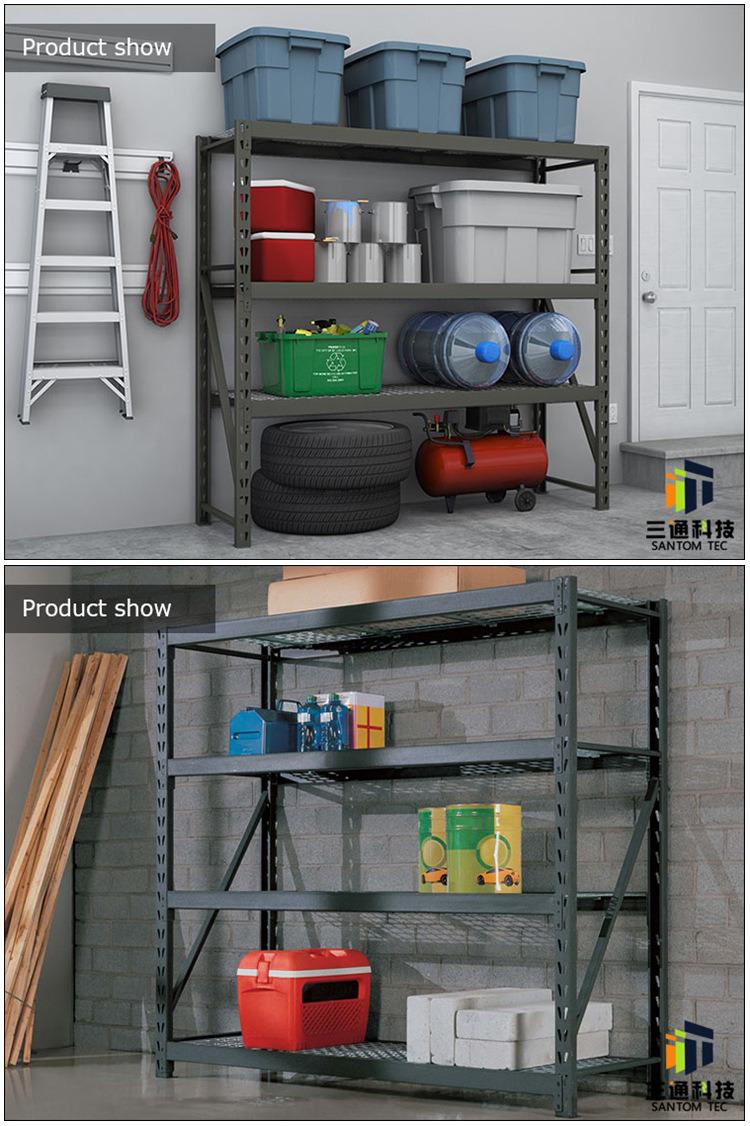 Black Wire Shelves, Commercial Shelving Racks, Industry Rack for Costco