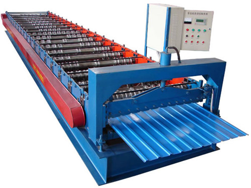 Steel Tile Wall Cladding Forming Machine