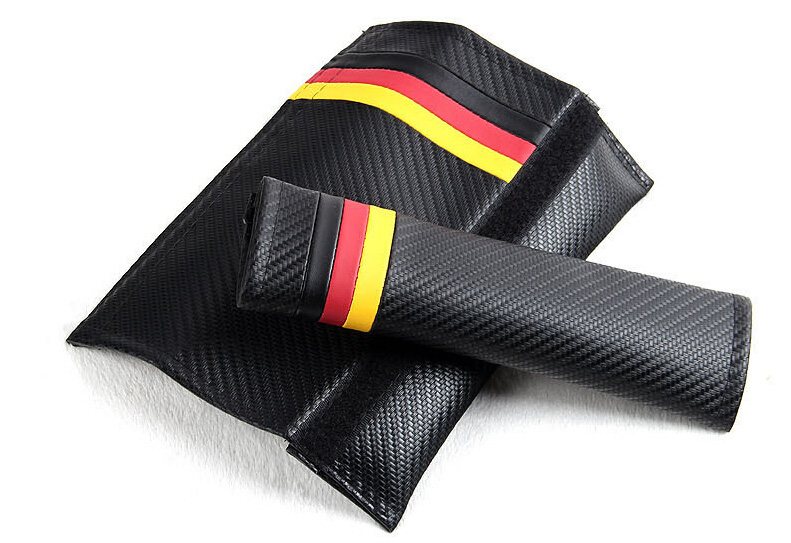 Carbon Fiber Seat Belt Pads for Car