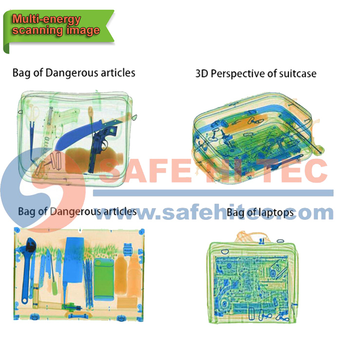 Introscope Cargo X Ray Luggage Detector Security Scanning Inspection Machine (SAFE HI-TEC)