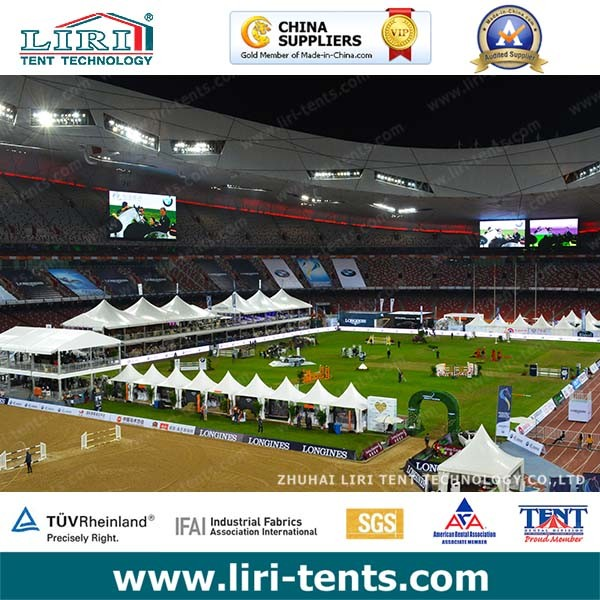 Used 20X30m Big Horse Racing Tent for Sport Event