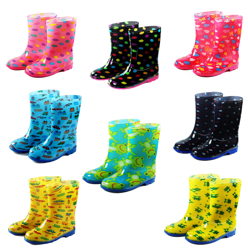 Kids of PVC Rainboots, Kids Shoes, Rain Shoes