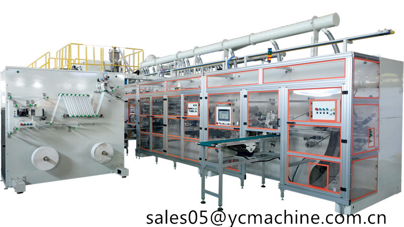 Always Incredibly Thin Regular Daily Liners Making Machine