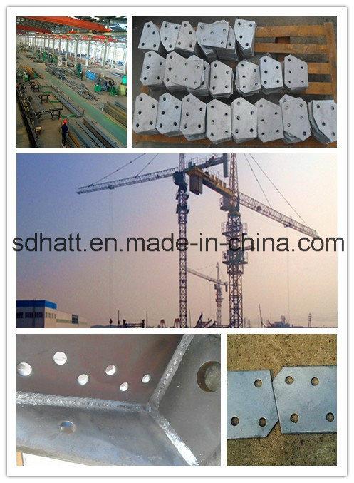 35 Kv Linear Steel Pipe Power Transmission Pole
