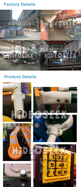 ASTM Standard Children Amusemnt Park Equipment with Slide