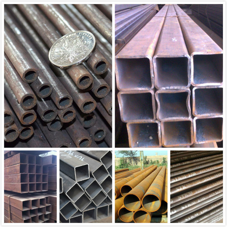200 Series/300 Series/400series Hot Rolled Seamless Greenhousing Zinc Coated Galvanized Square/Rectangular/Round Steel Pipe Tube