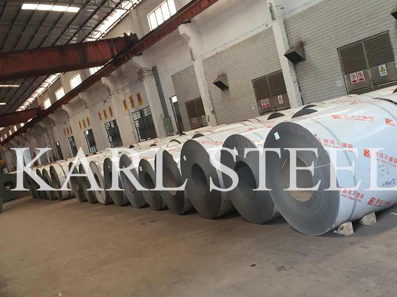 Raw Material Cold Rolled 2b Surface Stainless Steel Coil of Karl Steel