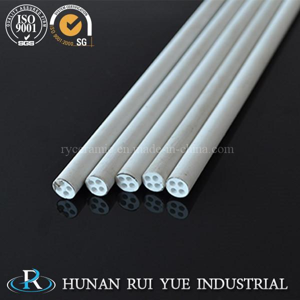 China Goods Wholesale 99% High Alumina Ceramic Tubes with Holes
