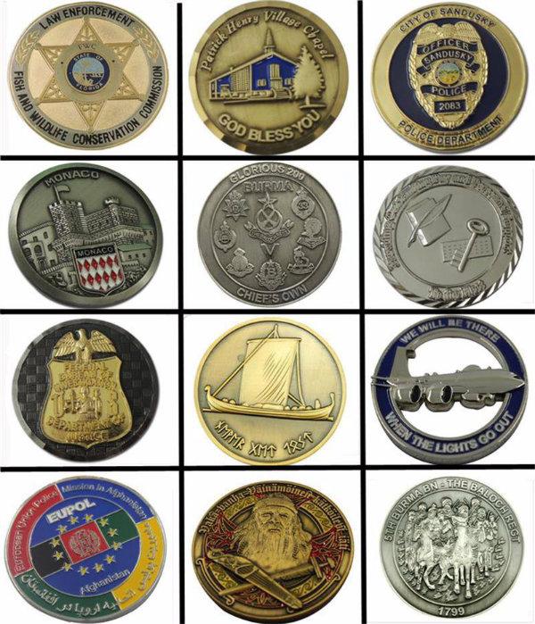 Officers Memorial Souvenir Coins