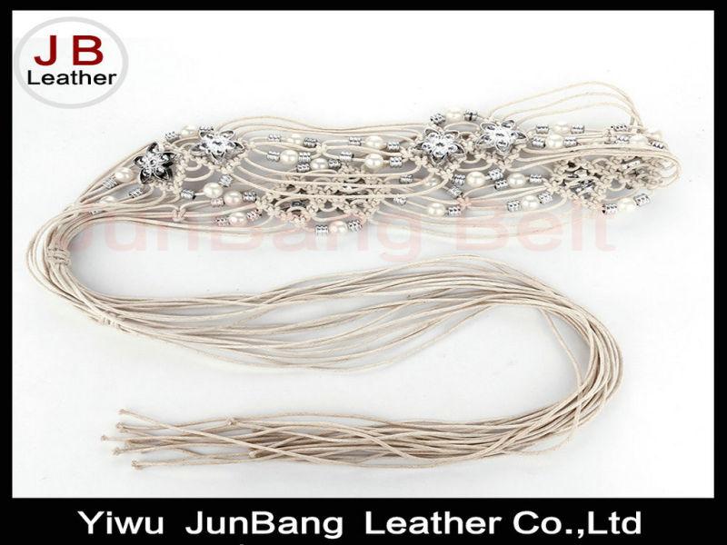 Fashion Ethnic Style Hand Made Beaded Belt