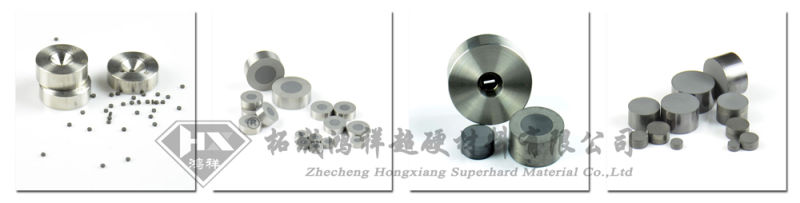 Polycrystalline Diamond Die Blanks PCD for Wire Drawing Dies