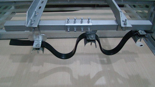 Mobile Supply Power C-Track Festoon System for Crane