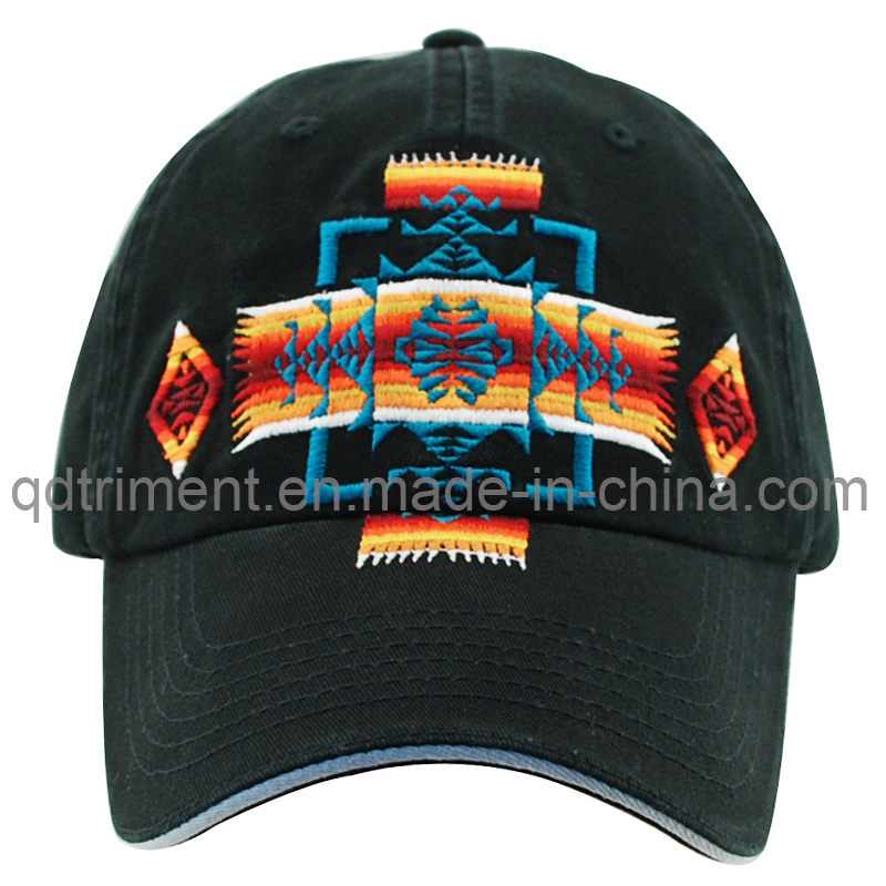 Washed Cotton Twill Embroidery Golf Sport Baseball Cap (TMB0911)