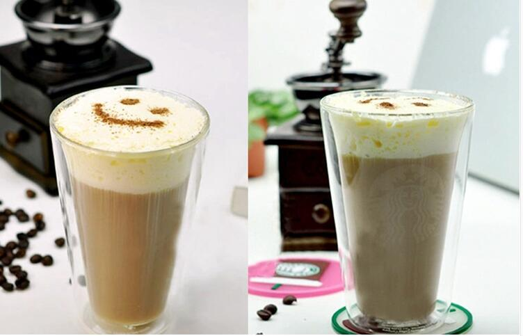 Double Wall Glass Coffee Mug Tea Cup Promotion Gifts